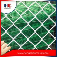 Decorative Pvc Galvanized Used 6 Foot Chain Link Fence For Sale