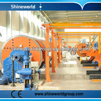 630 1+6+12+18 rigid frame copper or aluminum wire stranding usage cable machine