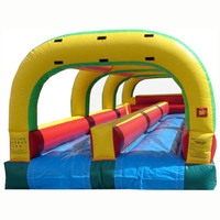 hot sale Double Lane inflatable water slide/ waterslide supplier china