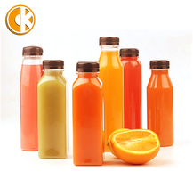 Pet Plastic Drinking Bottle/Smoothie Bottle/ Beverage Bottle 400Ml
