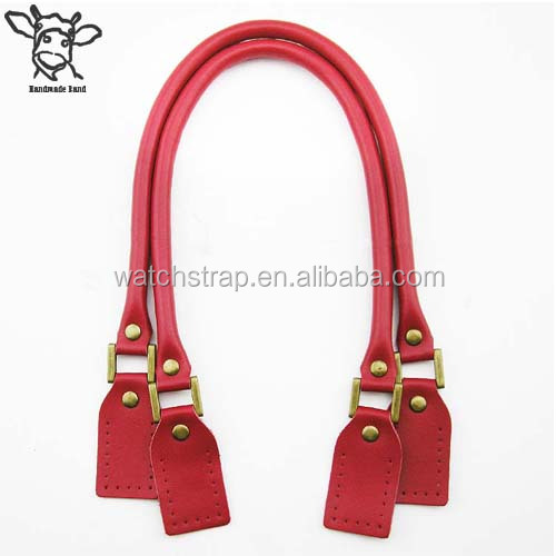 Handmade Band 60cm/23.6 inch genuine Leather handles for handbags