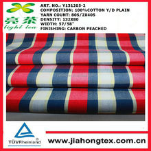 100% cotton shirting fabric for shirt