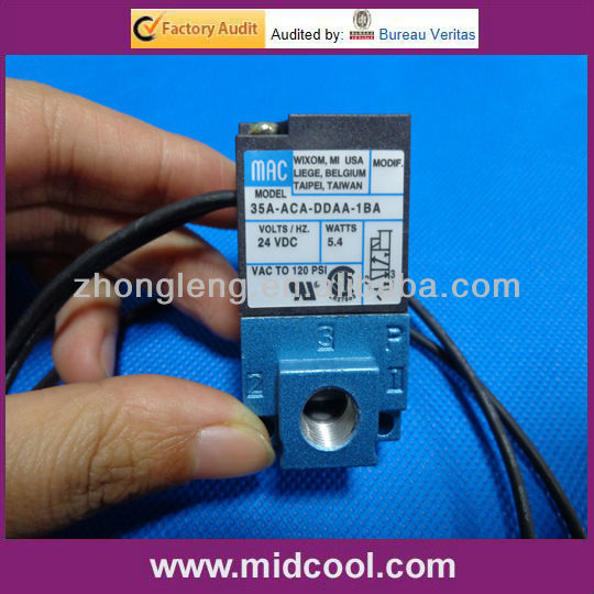 24v 1/8 MAC high frequency solenoid valve