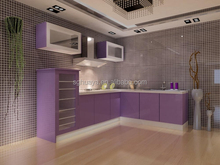 european sized modular kitchen cabinets/fiber kitchen cabinet/kitchen unit