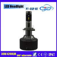 new product New Arrivals car accessories led motorcycle headlight bulb 30w 60w 4200LM p7 auto h7