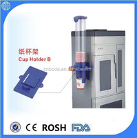 plastic cup dispenser with screw or magnet holder
