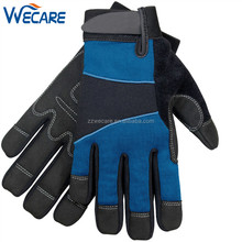 Full Finger Sweat Abrasion Heavy Duty Anti Shock Miner Work Hand Protective Driller Gloves