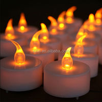 Soft Flicker LED Flameless Tealight Candle