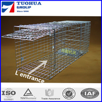 Collapsible One-door Live Animal Cage traps