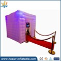 Newest advertising inflatable booth, inflatable photo booth for sale