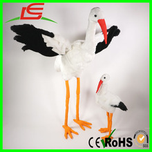 plush birds red mouth animal toys stuffed Storks