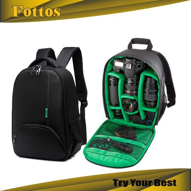 Fashion Anti-water Anti-shock nylon bag for Digital DSLR camera bag backpack