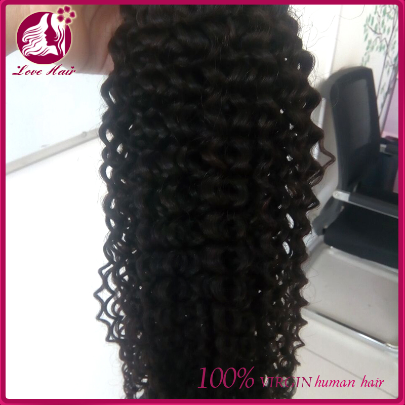 8A grade 8-30inch Cambodian virgin hair kinky curl Unprocessed curly hair extension human hair <strong>weave</strong> 3bundles lot free shipping