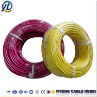 Different types of electric wire and cable 16mm 10mm flexible electrical wire