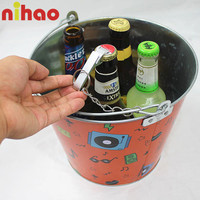 Cheap metal champagne ice bucket