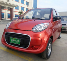 Chinese manufacturer new fashion close body 4 four wheel electric smart car utomobile vehicle car with air condition