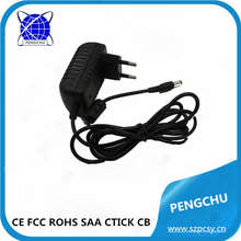 5v 1a mp3/mp4 charger 5w with ce rohs fcc c-tick made in china