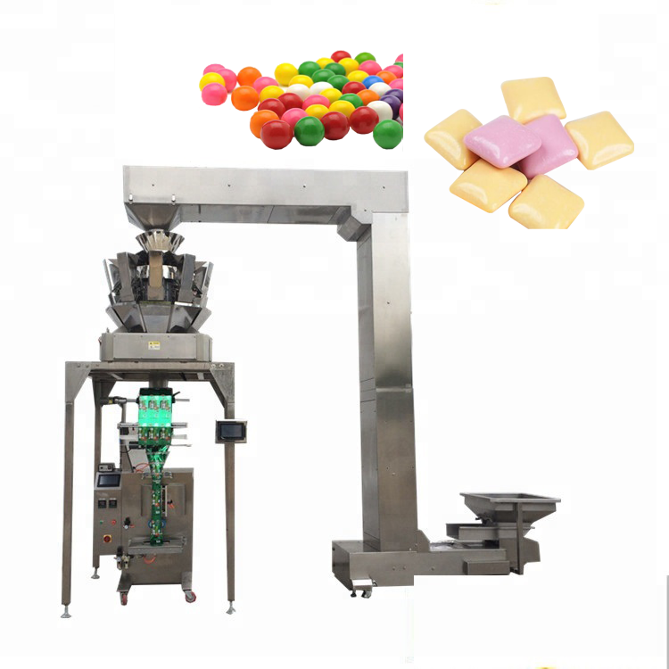 CE YB-<strong>Z10</strong> Automatic 10 head weigher dried fruit desiccants packing dog food packaging machine