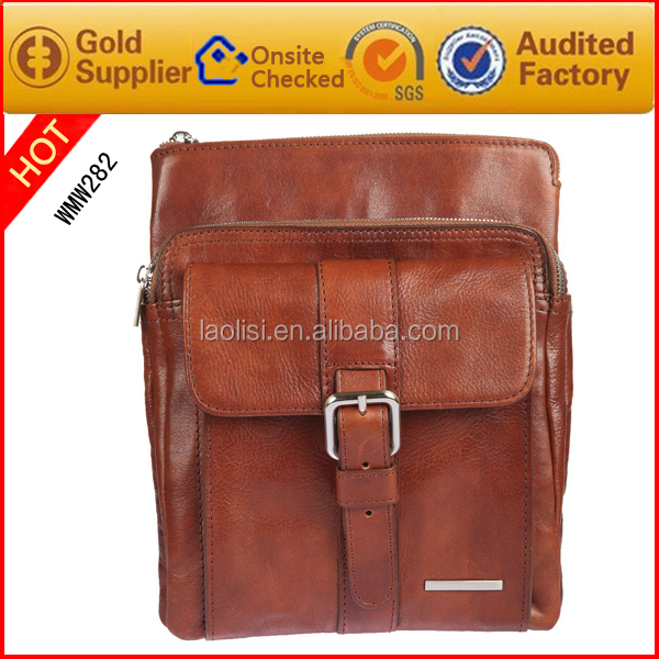 2016 new Leather camera bags China supplier shoulder messenger bag