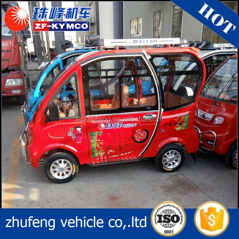 Professional battery powered electric passenger utility vehicles