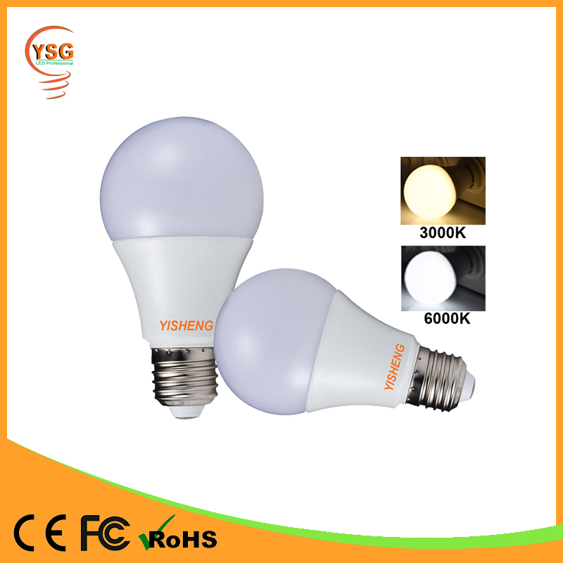 High Efficiency Aluminum PBT Housing 3w 5w 7w 9w 12w 15w light led bulb