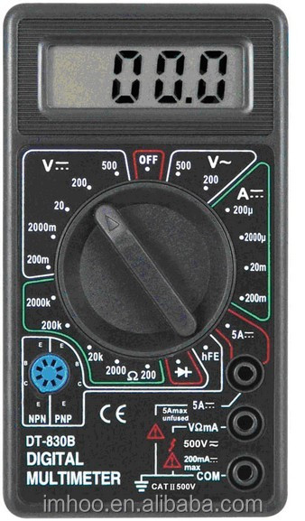 DT-830B pocket-size multimeter digital