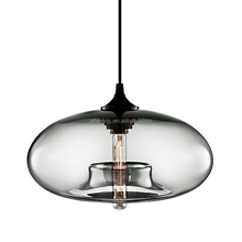 Hot slaes single hanging modern decorative glass pendant light for kitchen