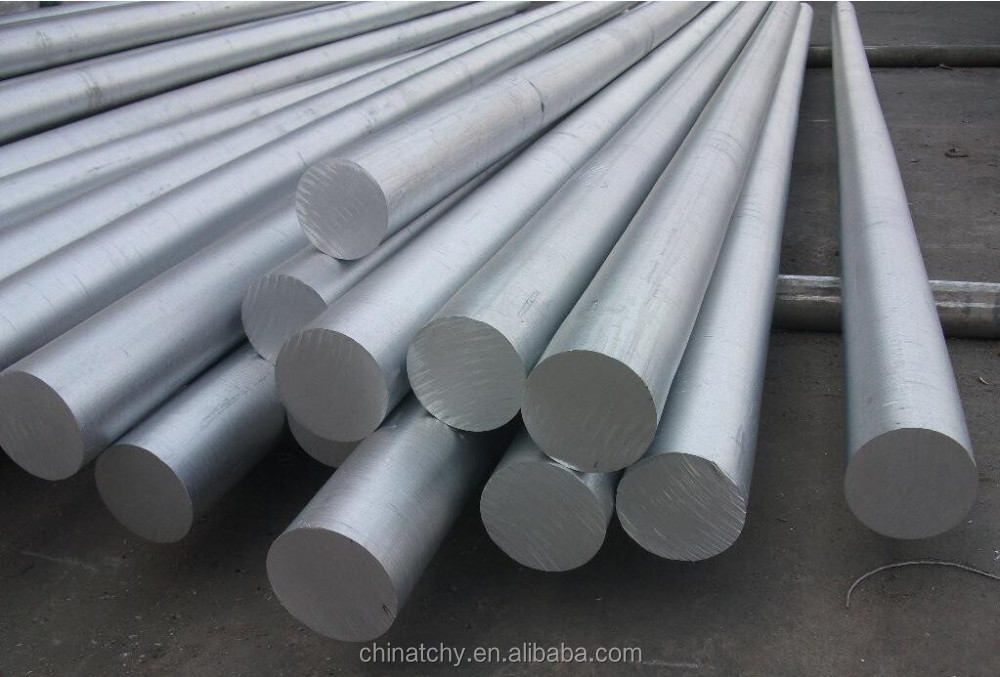 china supplier 6000 series extruded aluminum die casting billet round rod