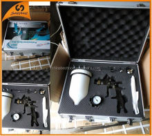 2015 high quality top saling sandblasting guns and type of jobs used HVLP srapy gun kit