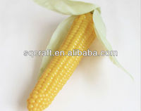 fake corn in pieces,artificial corn,fake food sample model for decoration display