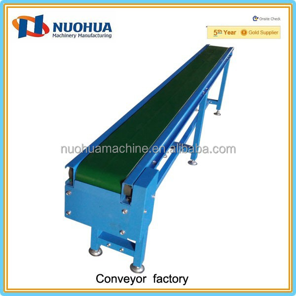 Industrial conveyor belts with roller line transfer conveying drive head system