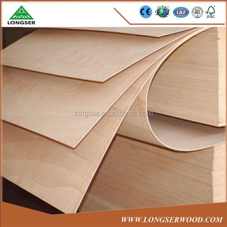 China Low Price 3mm Flexible Plywood For Sale