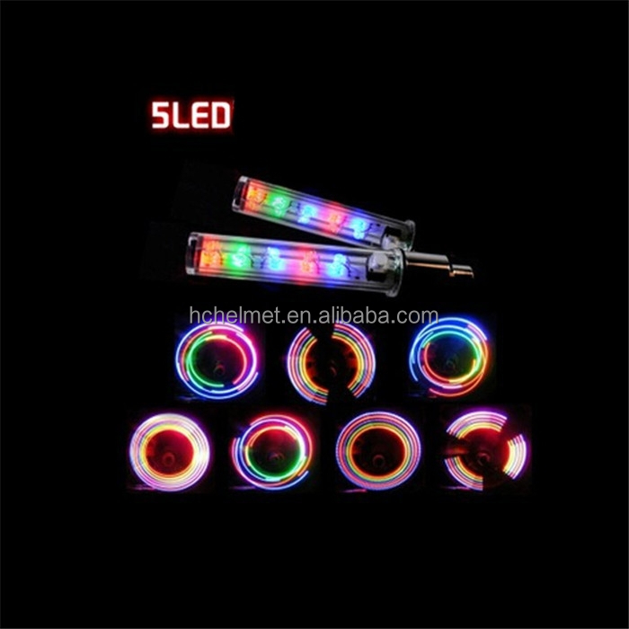 Safety Cycling Car Wheel Tire Tyre LED Spoke Light Lamp Bike bicycle light