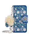 for iPhone 6 6 Plus Jasmine flower wallet flip leather case, for iPhone 7 Chain wallet case