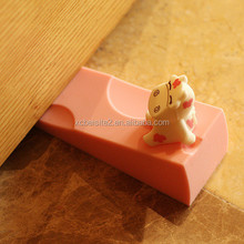J176 childern silicone creative cute animal door draft guard