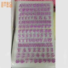 2017 stickers wholesale high quality sticker letter stickers for nail art decorations
