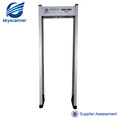 MD-600A Black color walk through metal detector gate Security body scanner gate MD-600A
