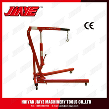1TON high quality hydraulic folding shop crane