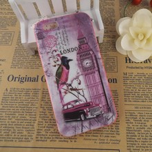Bird and clock relief sculpture accessories for iphone cover durable cover for iphone 6 back case wholesale