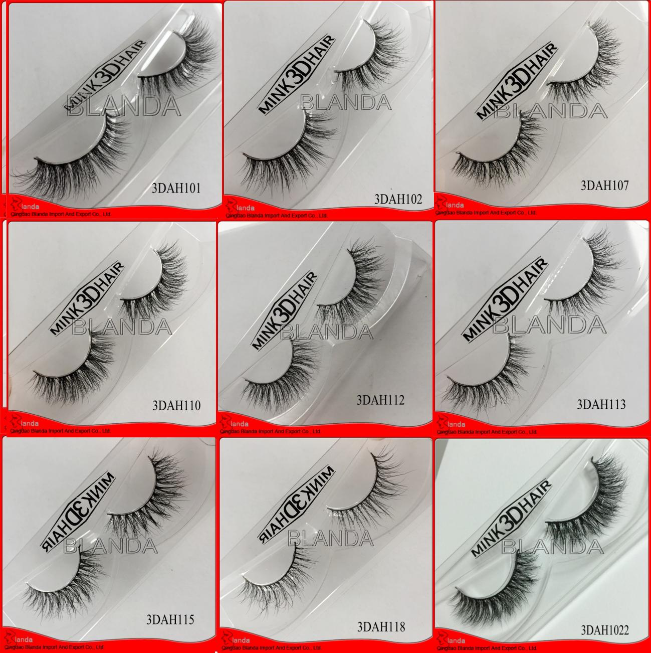 Hot sale individual lashes soft 3d silk lash strips private label mink eyelash extensions