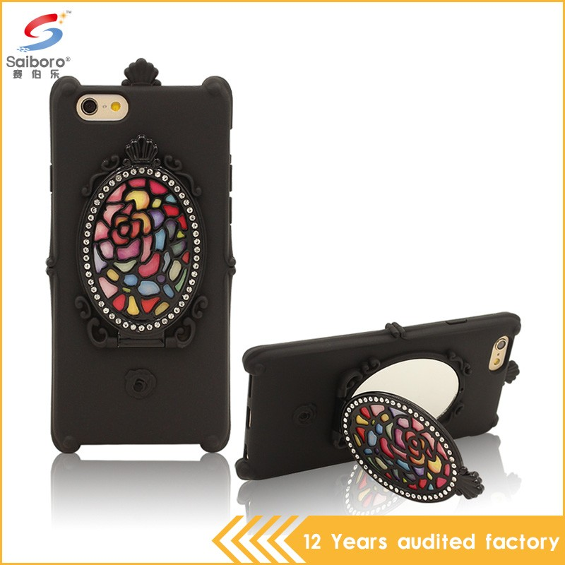 Alibaba china wholesale silicone mobilephone case for iphone 6/6s
