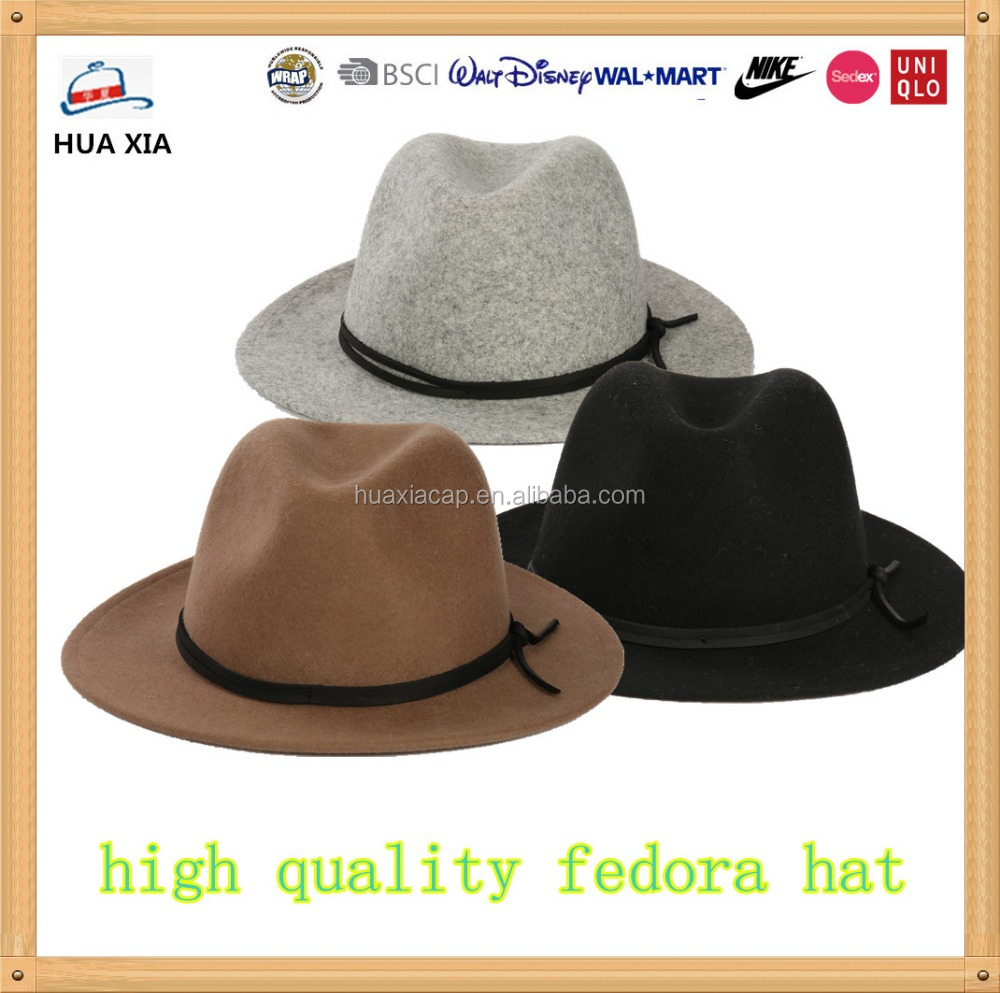 FASHION 100% WOOL FEDORA , FEDORA HAT