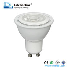 UL listed warm white dimmable GU10 8w cob led spotlight