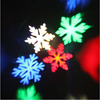 LED Snowflake Ornament Patterns Projector Outdoor