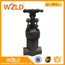WZLD ANSI/ASTM Welded Bonnet No Flanged OS&Y Forged Bellow Sealed Gate Valve