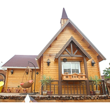 China manufacturer high quality cheap prefab small wooden log house