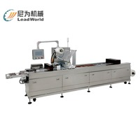 LW-ATVP Sandwich/Data/Fish/Meat/Vegetable Vacuum Thermoforming Packaging Machine