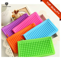 2016 Fashion Woman Wholesale Silicone Coin Purse/Silicone Coin Wallet