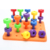 Safe and harmless plastic building blocks toys puzzle development children's educational toys building block multi-color