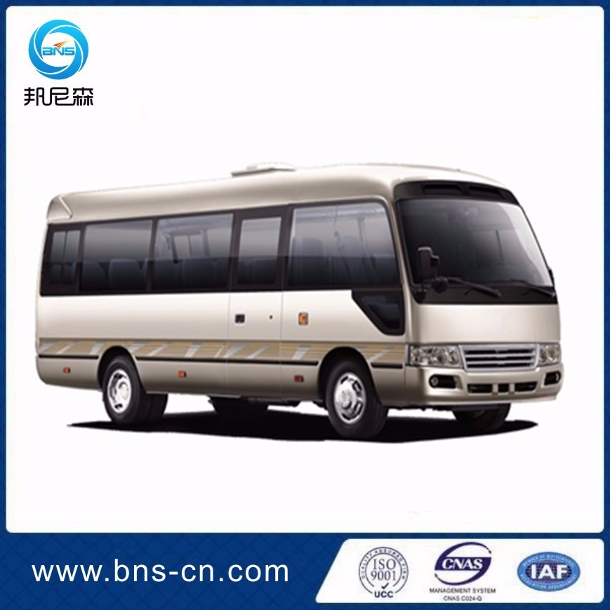 7M 20 Seats Luxury Gas/Diesel/CNG Coaster Mini Bus For Sale